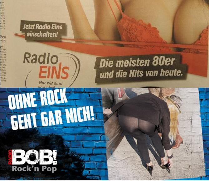 Radio Eins und Radio Bob