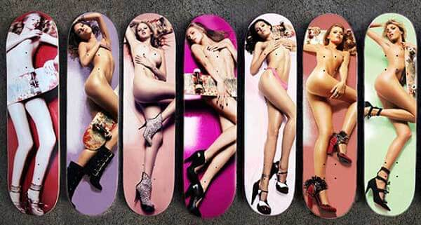 Doodah-naked-Supermodel-skateboard-deck