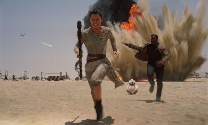 Rey und Finn