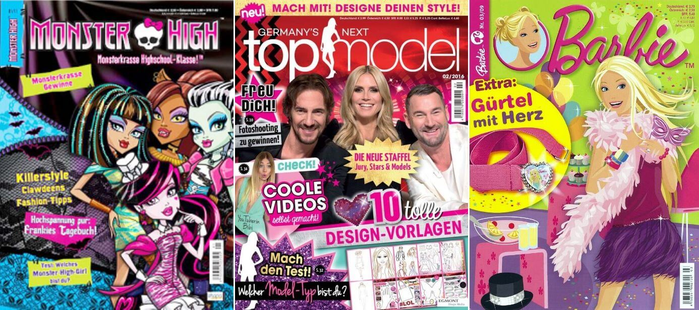 germany 39 s next topmodel f r 8 bis 12 j hrige pinkstinks germany. Black Bedroom Furniture Sets. Home Design Ideas