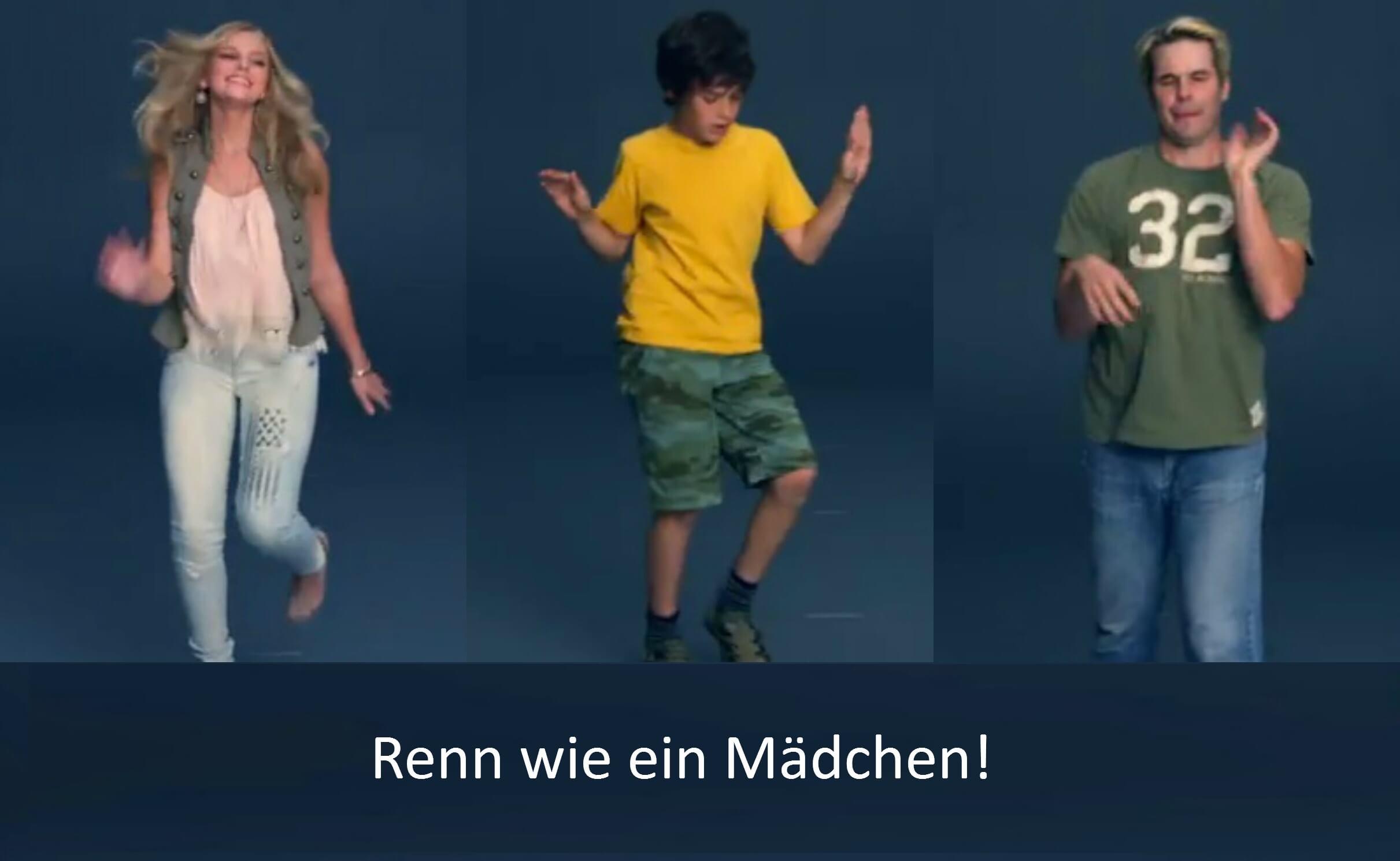 always like a girl campaign   Pinkstinks Germany