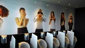 Toilette Van der Valk Hotel Düsseldorf