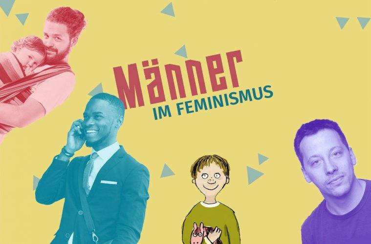 Männer im Feminismus - Pinkstinks Germany