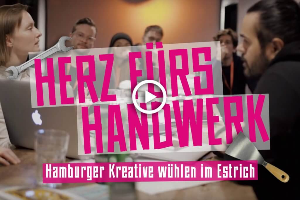 Hamburger Kreative wühlen im Estrich - Pinkstinks Germany