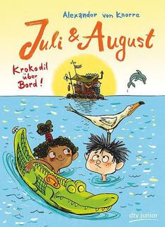 Juli und August – Krokodil über Bord!