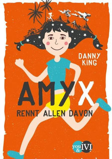 Amy X. rennt allen davon