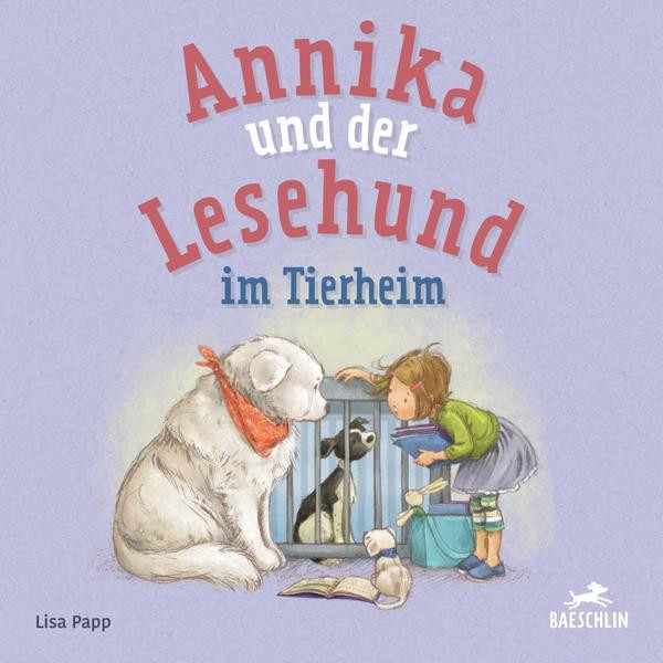Annika und der Lesehund im Tierheim