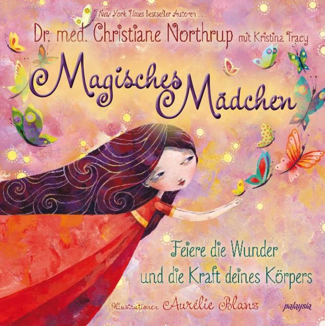 Magisches Mädchen. Feiere die Wunder und die Kraft deines Körpers