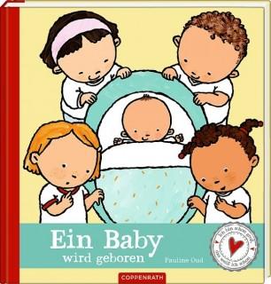 Ein Baby wird geboren