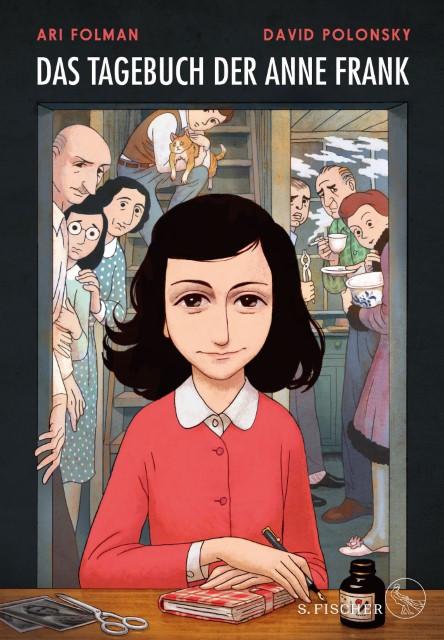 Ari Folman, Anne Frank, David Polonsky: Das Tagebuch der Anne Frank