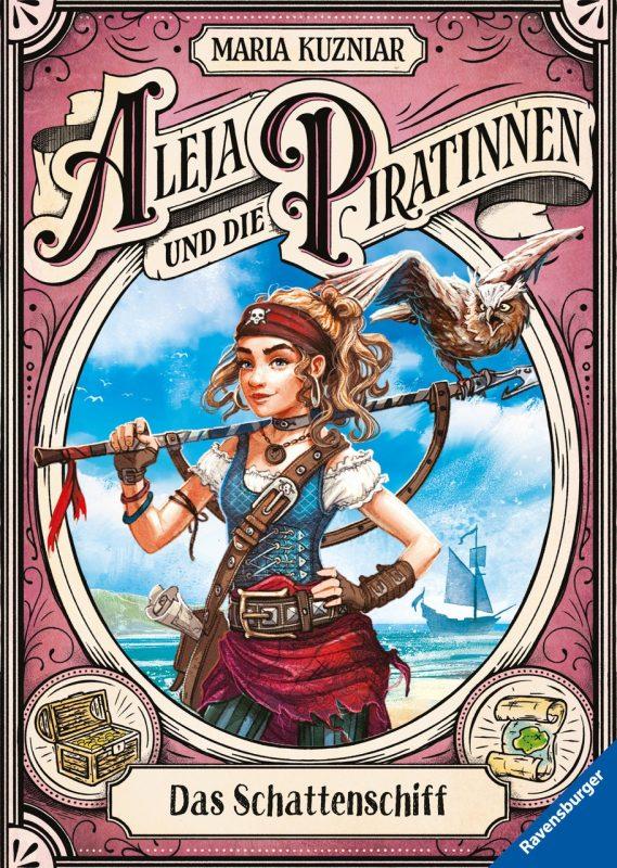 Maria Kuzniar: Aleja und die Piratinnen, Band 1: Das Schattenschiff