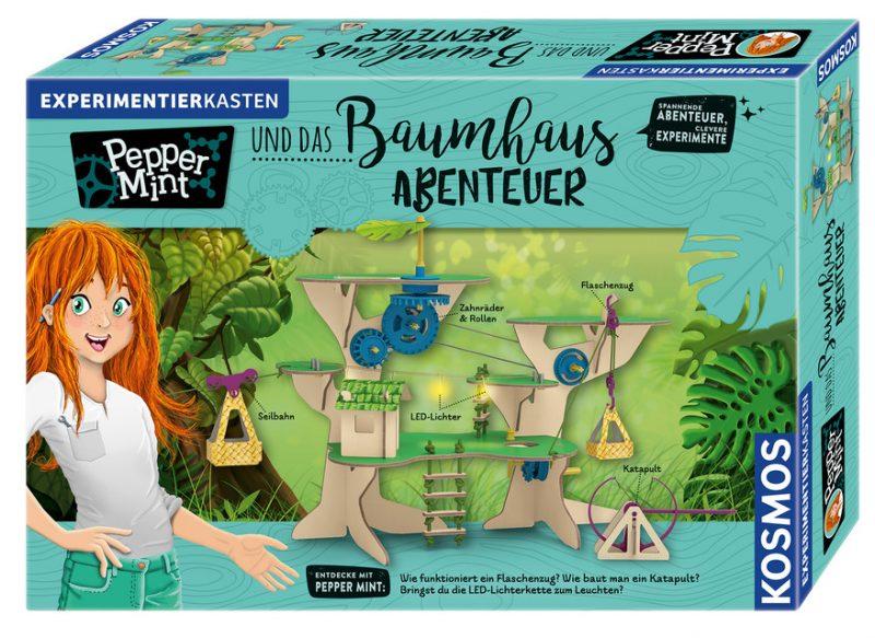 Pepper Mint und das Baumhaus-Abenteuer. Experimentierkasten